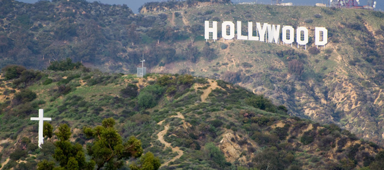 hollywood-sign-and-cross